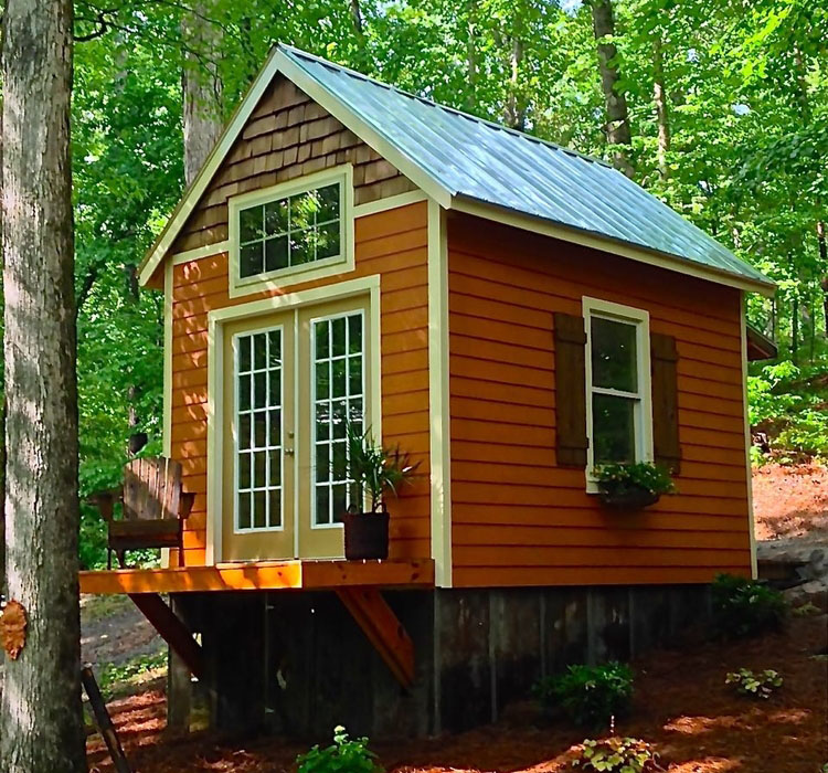 The Otter Den Tiny House 1 - Get Little House Small Tiny House Design Background