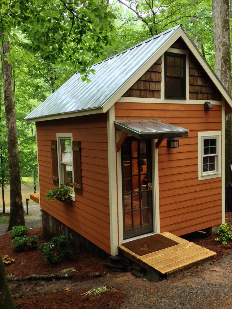Tiny Home Designs: 180 Square Foot Tiny House With The Open Feel Of A Full