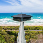 Suspended House Above The Beach Provides Dramatic Oceanfront Experience