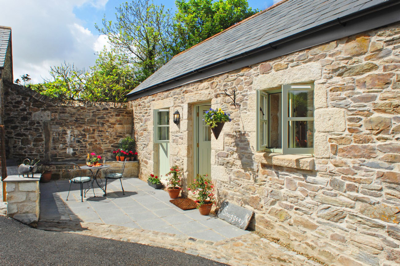 An Idyllic Cottage In The Cornish Countryside