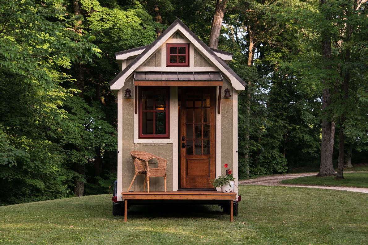 timbercraft tiny house living large in 150 square feet. Black Bedroom Furniture Sets. Home Design Ideas