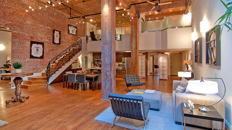 Timeless Open Warehouse Loft on San Francisco Apartments 1 Bedroom Floor Plans