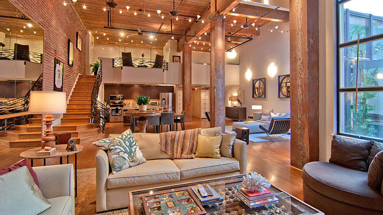 Timeless open warehouse loft idesignarch interior for Warehouse style house plans