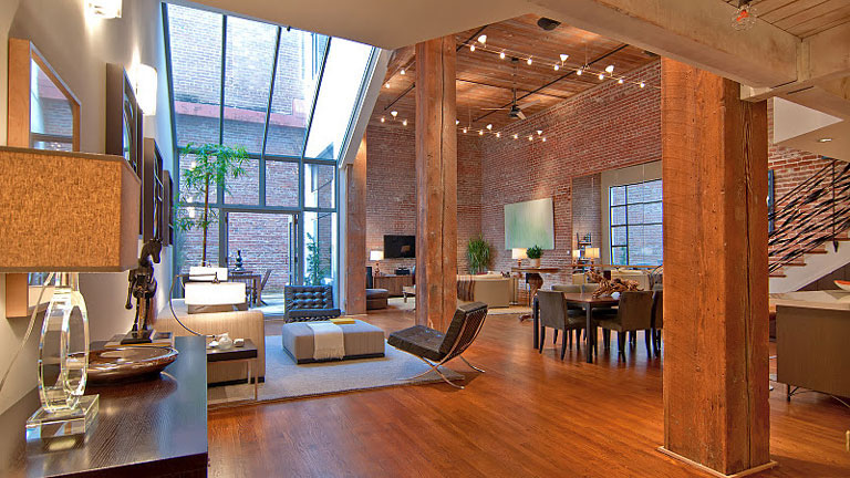 Timeless open warehouse loft for Open concept loft