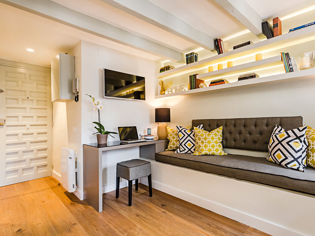 Charming Tiny Attic Apartment With Unique Layout