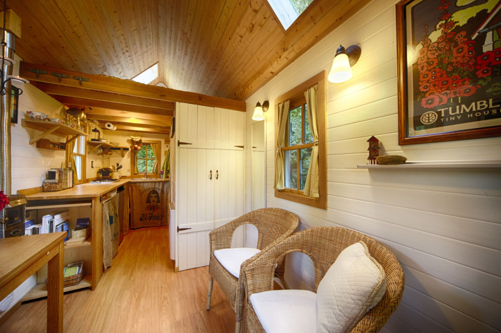 Charming tiny bungalow house idesignarch interior design architecture interior decorating - Tumbleweed tiny house interior ...