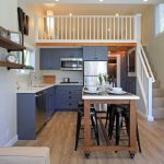 Spacious Lakeside Vacation Tiny House with One Bedroom Plus Loft