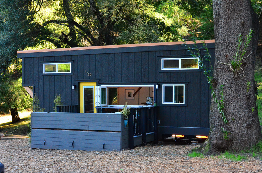 Tiny House with Outdoor Patio Deck