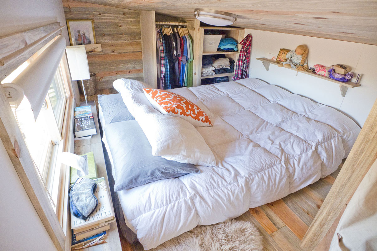 Tiny House Loft Bedroom