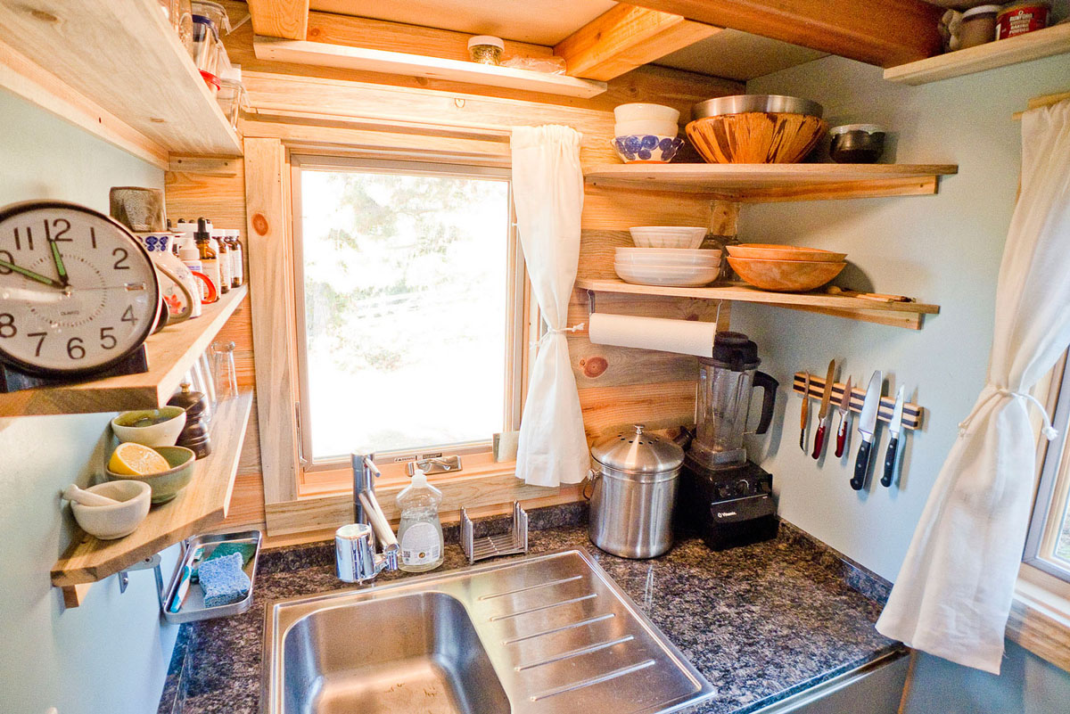 Pleasant Solar Tiny House Project On Wheels Idesignarch Interior Design Largest Home Design Picture Inspirations Pitcheantrous