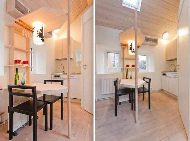 Tiny studio flat for students idesignarch interior for Small studio design