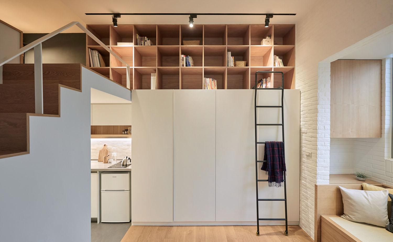 Studio Loft Apartment Tiny Studio Apartment In Taipei City With Sleeping Loft