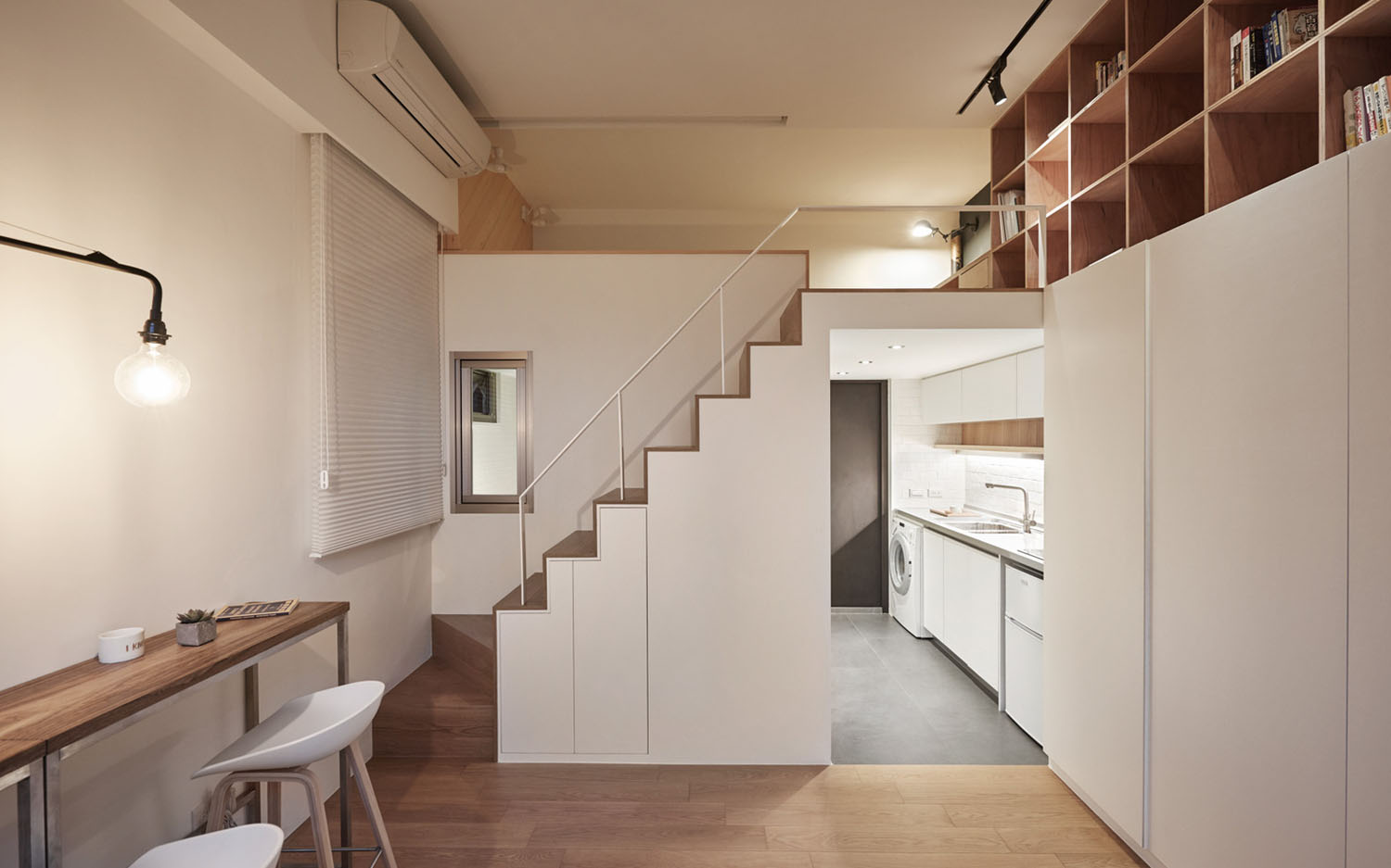 Micro Studio Apartment · Tiny Micro Apartment Kitchen