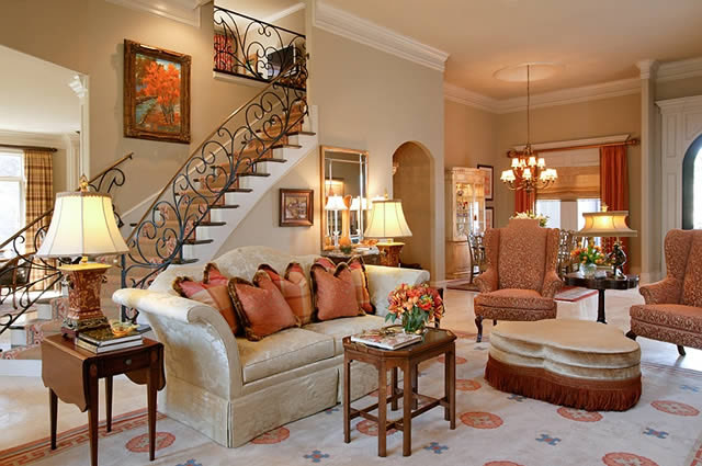 Interior decorating ideas from tobi fairley idesignarch Traditional home interior design
