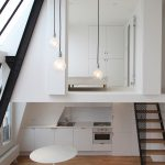 Studio Loft Apartment in Paris with Two Symmetrical Mezzanines