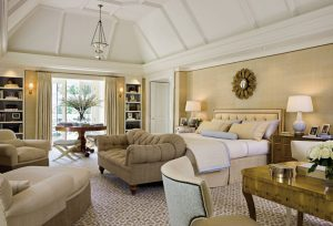 Luxurious Master Bedroom with Modern Classic Style Decor