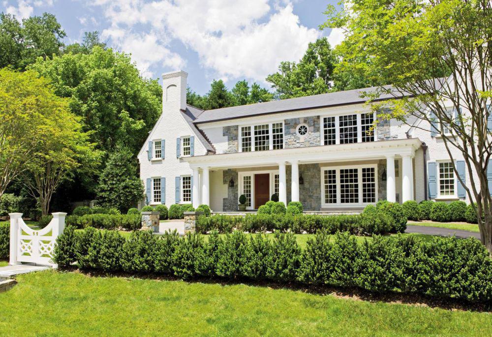 Colonial Revival House McLean Virginia
