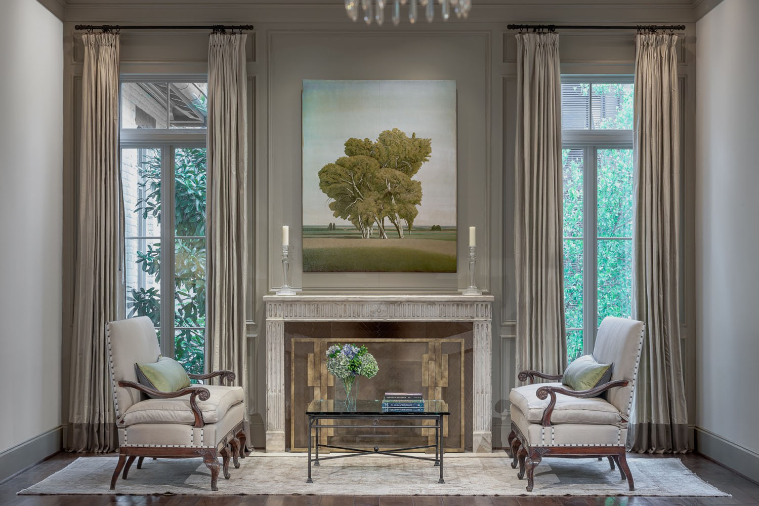 A traditional dream home in houston with rustic flavor - Ranch americain poet interiors houston ...
