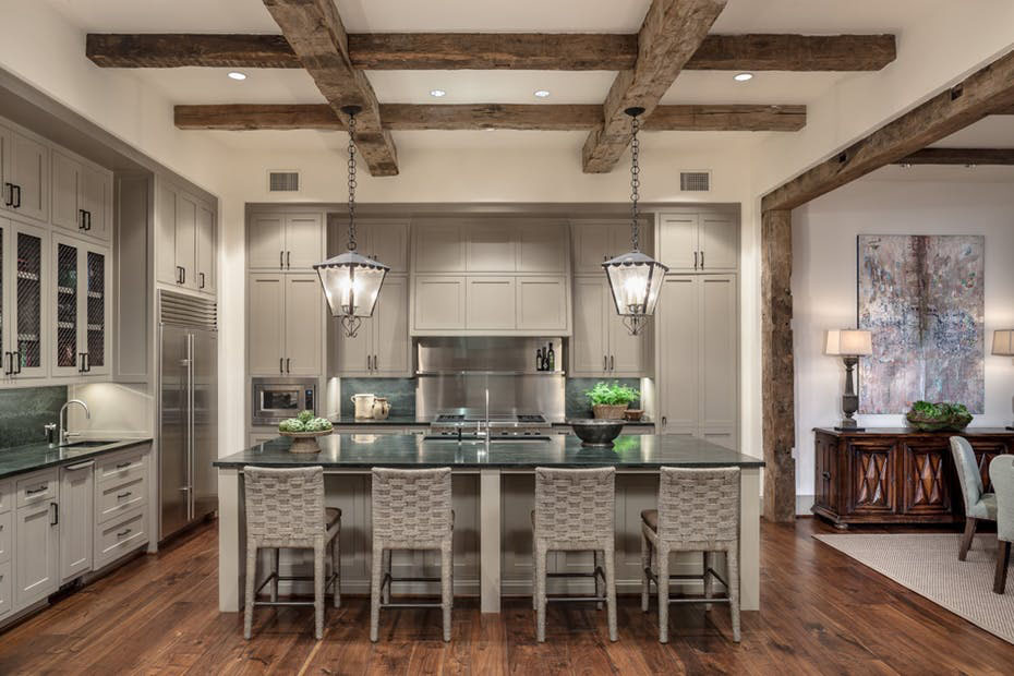 A traditional dream home in houston with rustic flavor idesignarch interior design - Ranch americain poet interiors houston ...