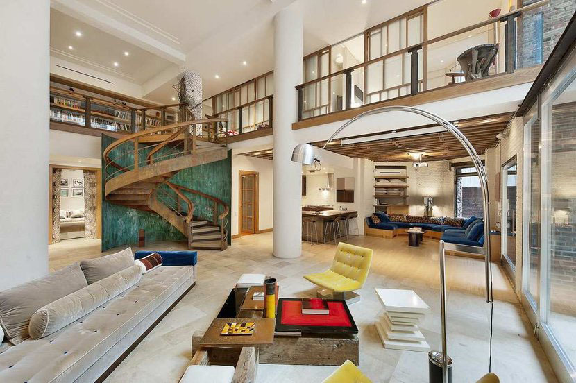 Jaw dropping tribeca condo duplex idesignarch interior for Nyc luxury condos for sale