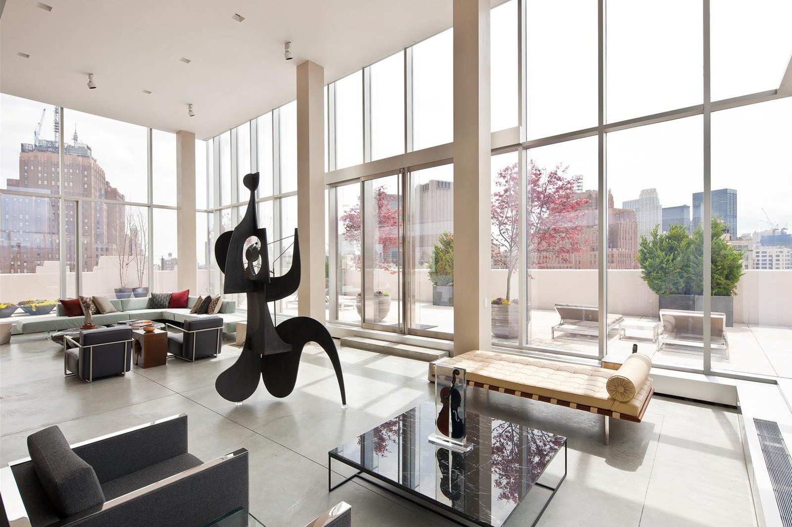 The ultimate manhattan penthouse in tribeca idesignarch for Luxury penthouses in manhattan