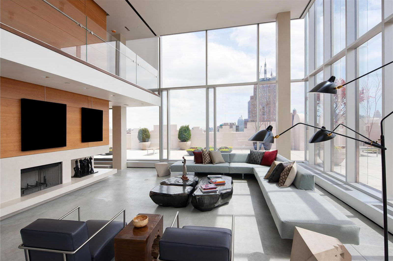 The ultimate manhattan penthouse in tribeca idesignarch for Modern house new york