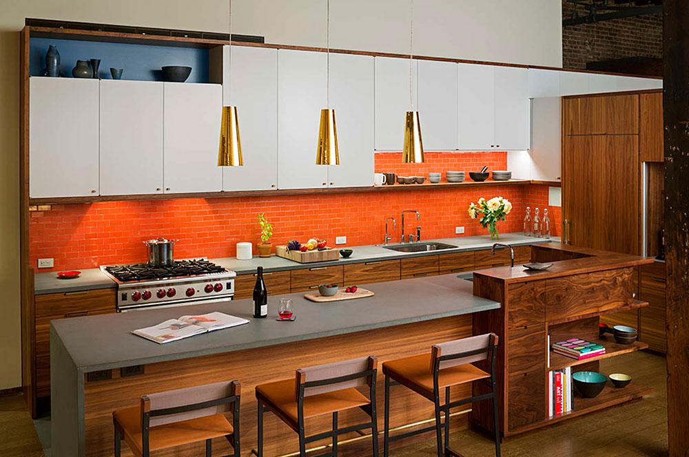 Mid-Century Style Kitchen Design