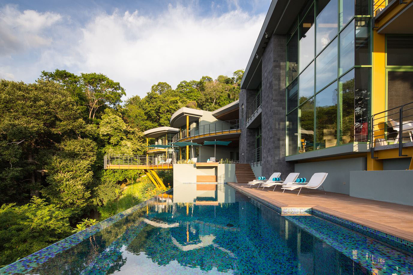 Tropical Modern Luxury Home In The Jungle IDesignArch Interior - Modern house jungle