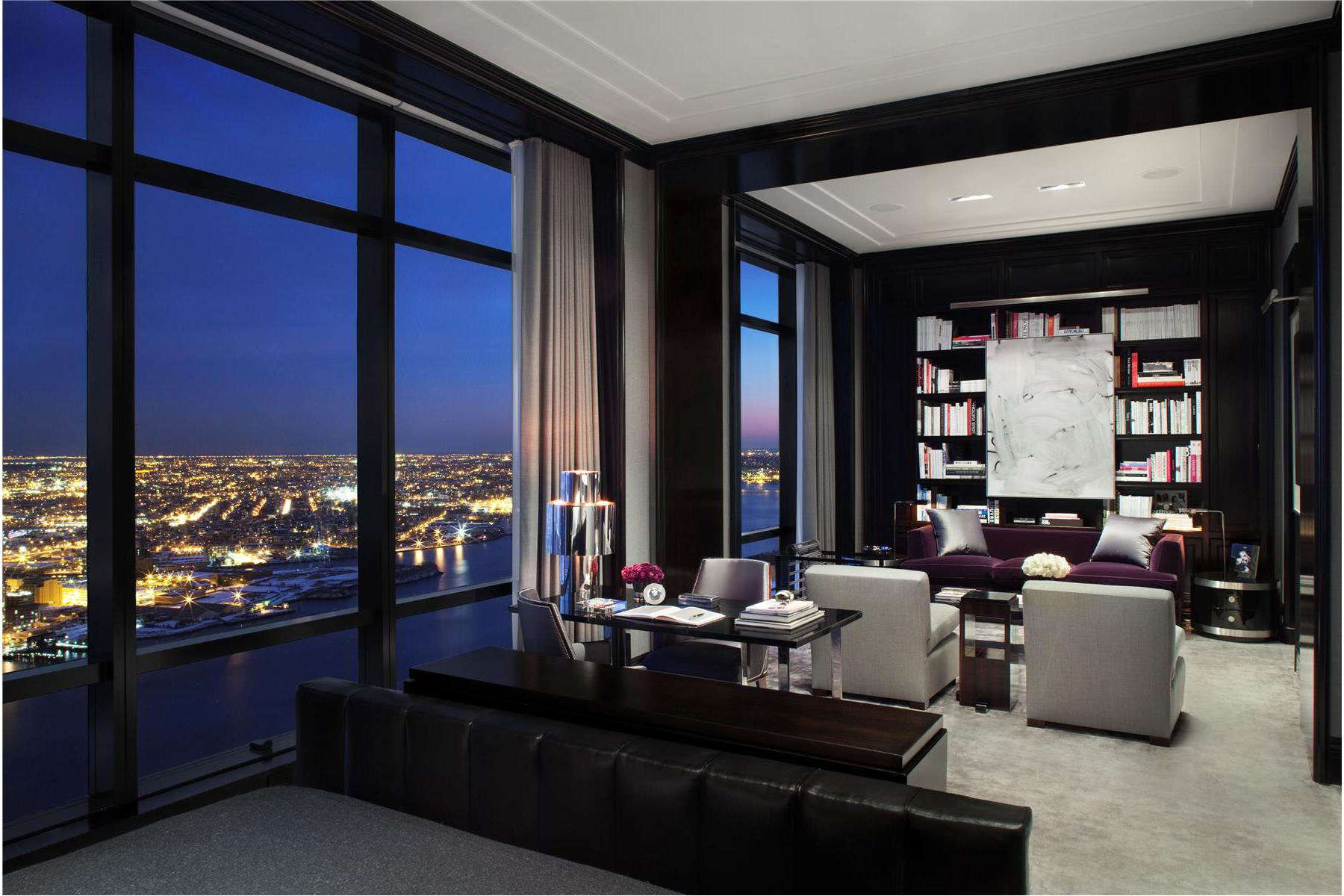 Trump world tower modern penthouse idesignarch for Home design york