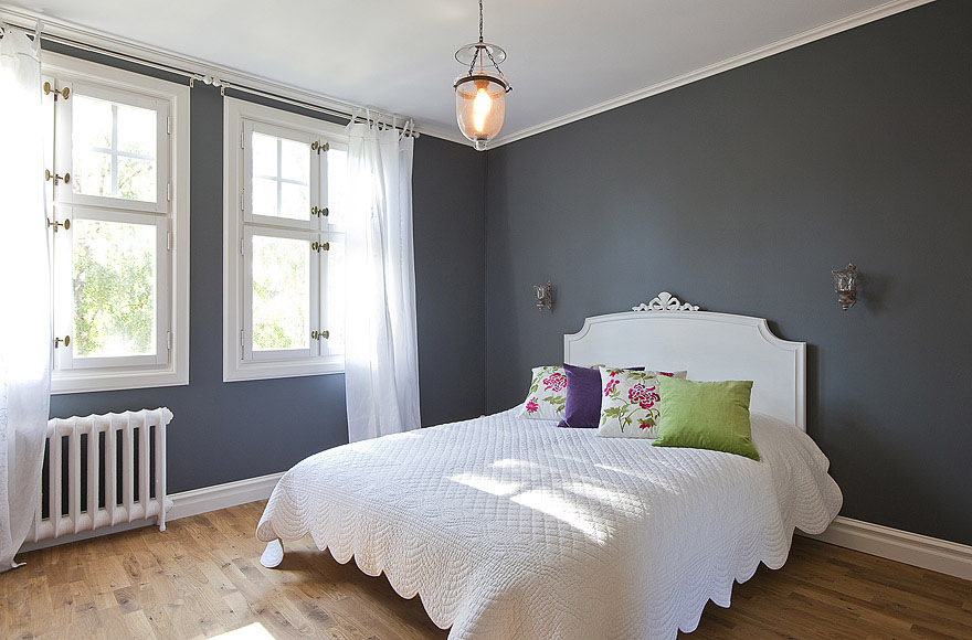 beautifully restored turn of the century house in sweden best gray paint best gray paintcharcoal grey paint bedroom universalcouncil info. Interior Design Ideas. Home Design Ideas