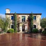 Tuscan-Style Villa In Montecito