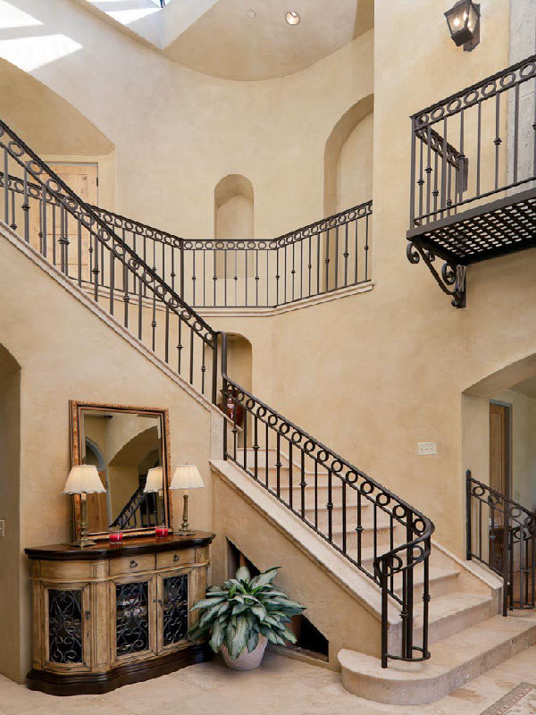 Tuscan style villa in montecito idesignarch interior for Tuscan style homes interior