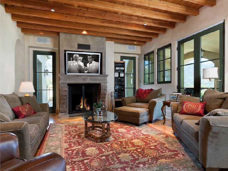 Tuscan Villa Living Room