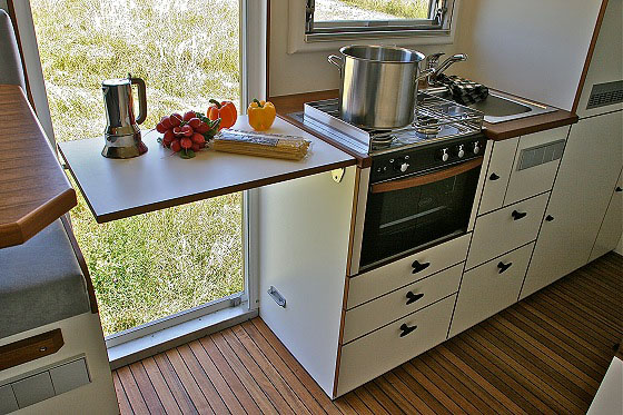 Mobile Home Kitchen