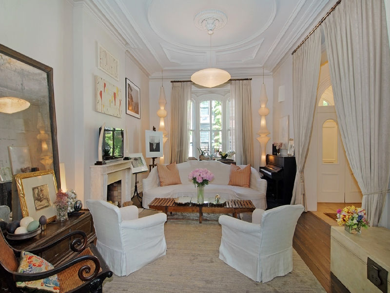 Uma Thurman S Greenwich Village Townhouse For Sale