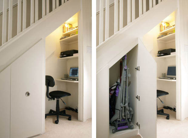 Under The Stairs Storage Ideas To Maximize Functional