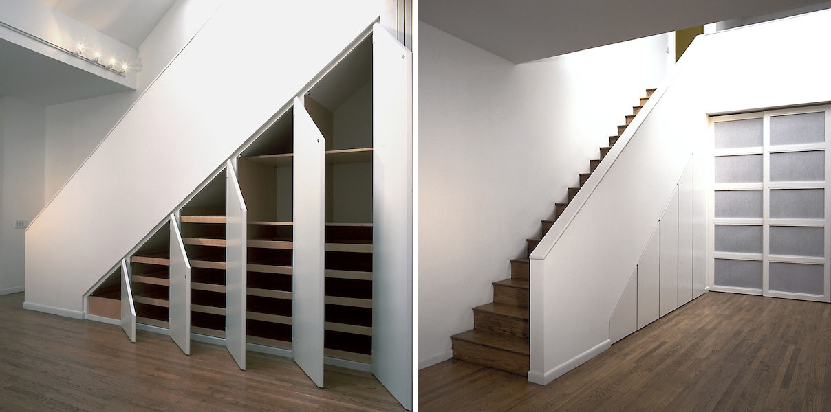 under the stairs storage ideas to maximize functional spaces idesignarch interior design. Black Bedroom Furniture Sets. Home Design Ideas
