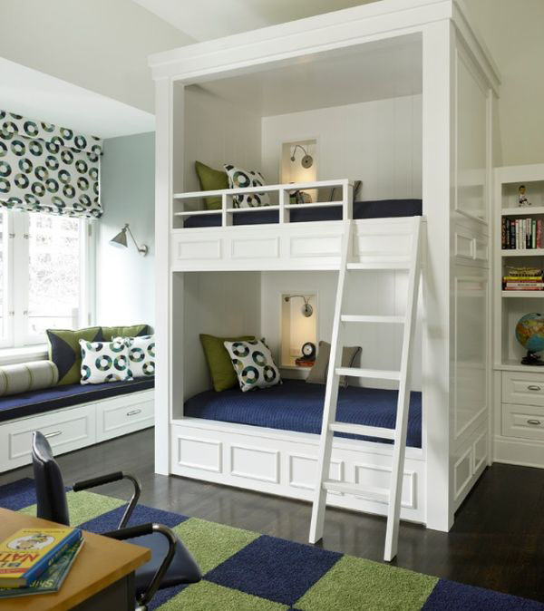 Stylish Custom Bunk Beds