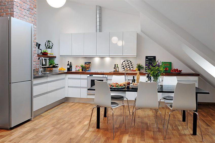 Unique Loft Apartment In Sweden | iDesignArch | Interior Design ...
