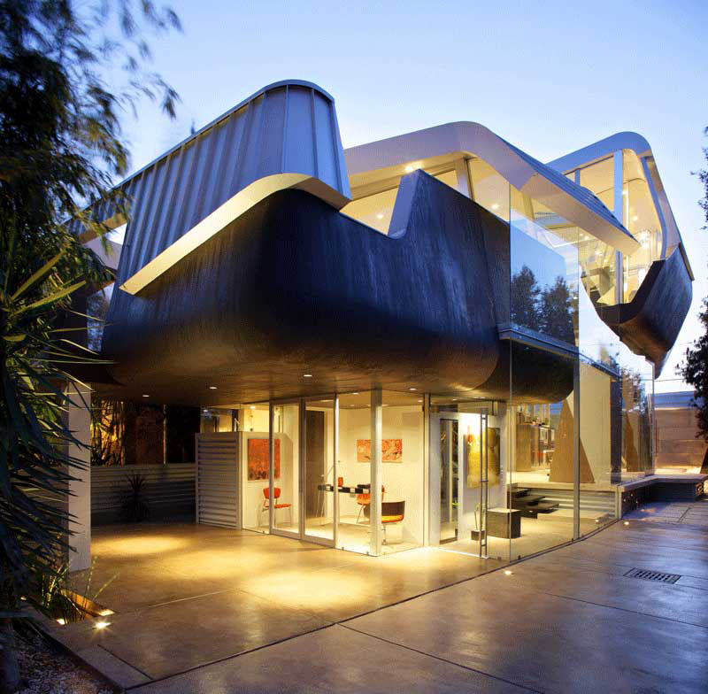 skywave house an artistic residential architecture - Architecture Design Houses