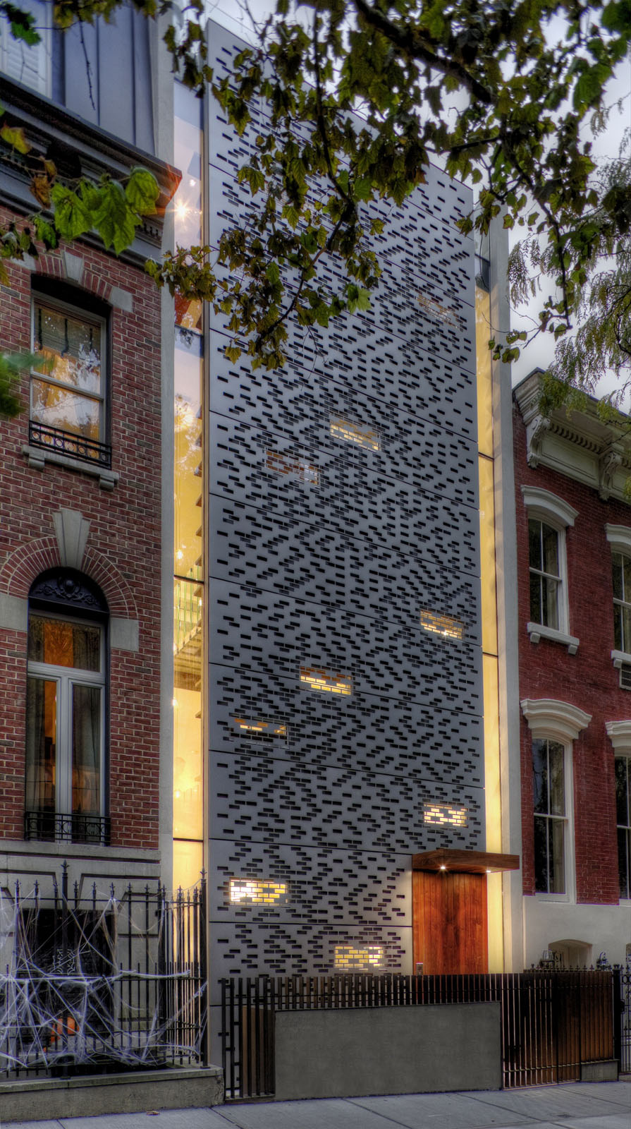 New York Infill Townhouse