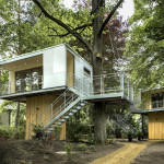 Tiny Treehouse Urban Oasis In Berlin
