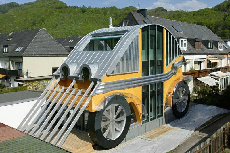 VW Beetle House In Austria | iDesignArch | Interior Design, Architecture & Interior Decorating ...