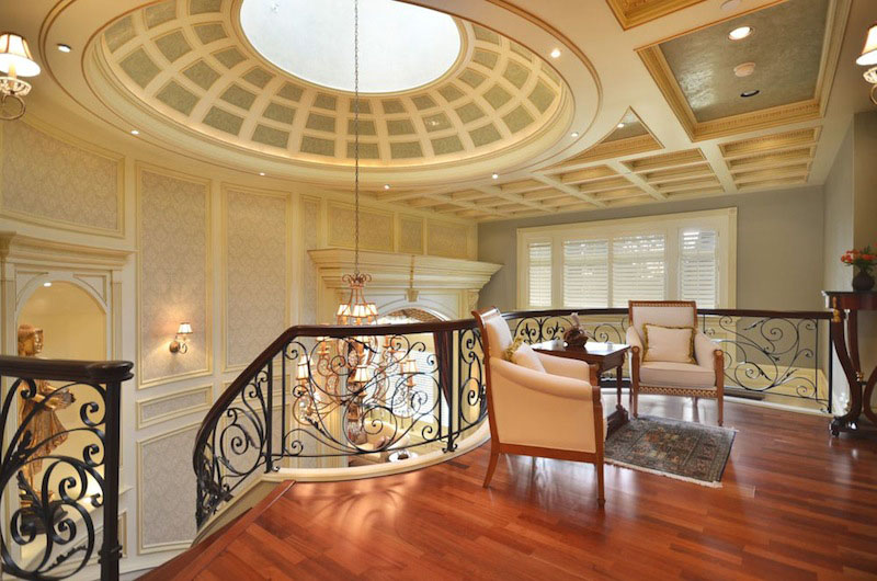 Lavish Mansion With Domed Skylight In Vancouver West