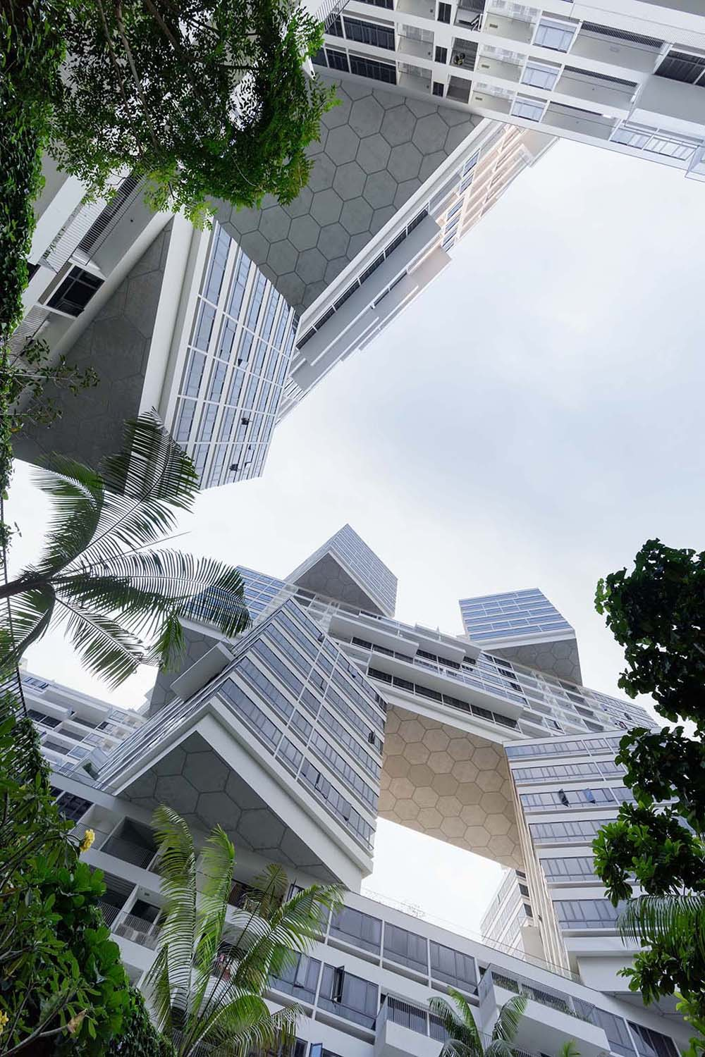 The Interlace Vertical Village Apartment Complex in ...