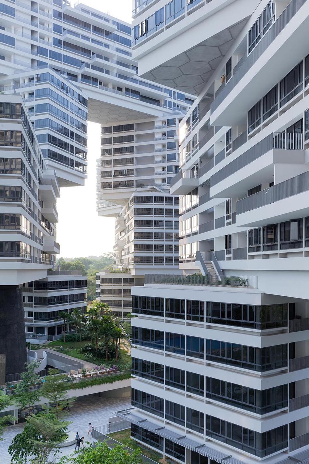 The Interlace Vertical Village Apartment Complex In