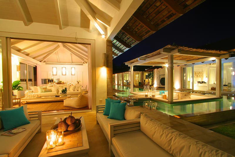 Beachfront Tropical Villa In Koh Samui Idesignarch