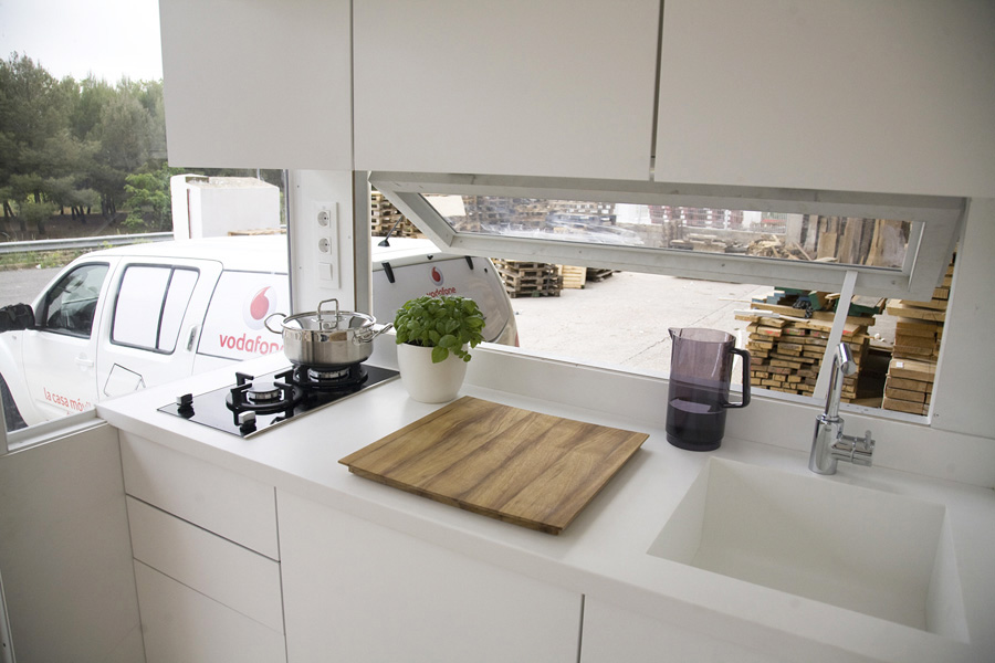 Mobile Tiny Home Kitchen