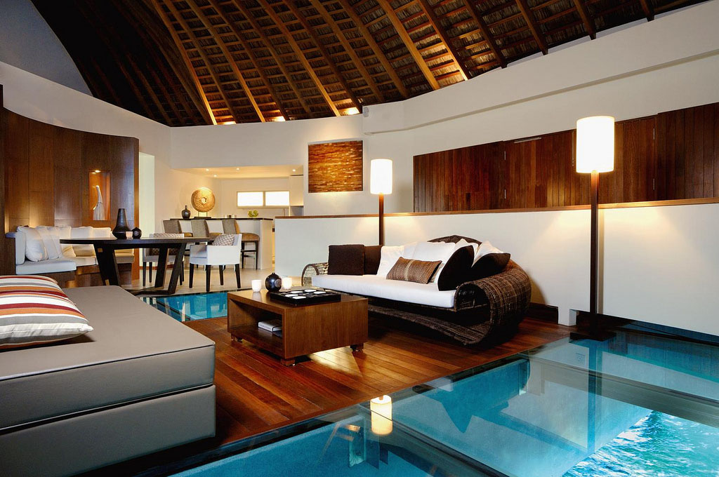 The Exotic W Retreat Amp Spa Maldives With Luxury Bungalows