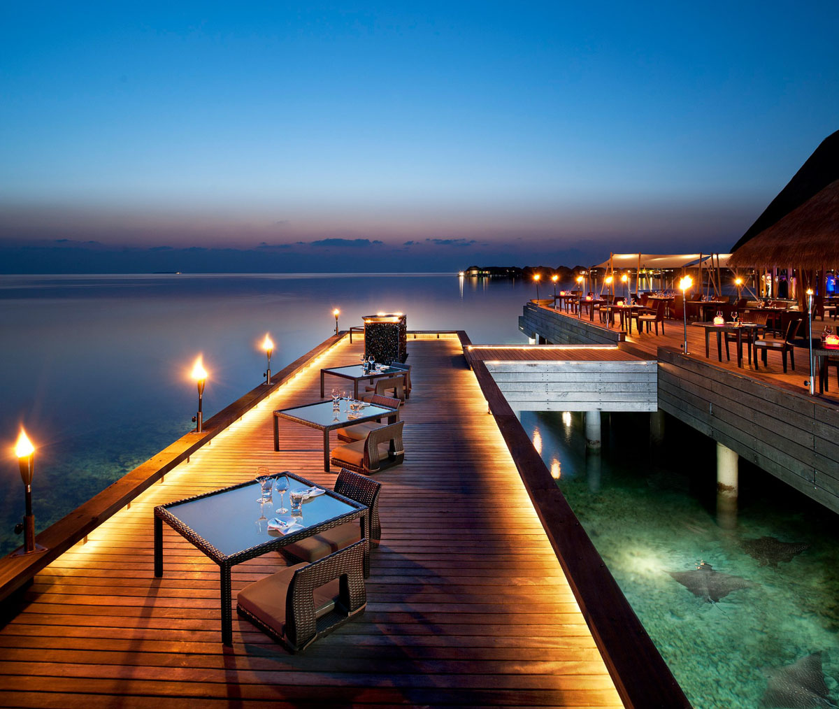 The Exotic W Retreat & Spa Maldives With Luxury Bungalows